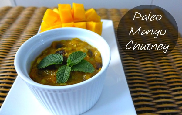 Paleo Mango Chutney - it's so simple!! Goes great with your Indian curries - The Urban Ecolife