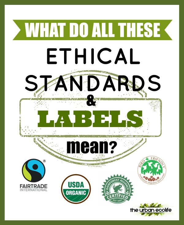 What Do All These Ethical Standards and Labels Mean? - The Urban Ecolife