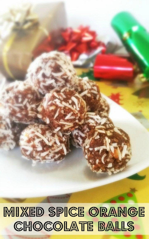 Mixed Spice Orange Chocolate Balls - The Urban Ecolife