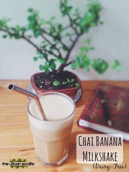 Chai Banana Milkshake (Dairy-Free)